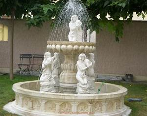 Fontaine D Exterieur En Pierre : fontaine exterieur en pierre 5 filles a au jardin d 39 eden ~ Premium-room.com Idées de Décoration