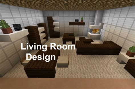 minecraft living room design interior ideas minecraft