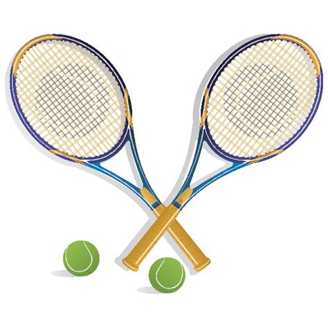 tennis rackets vector   vectorportal