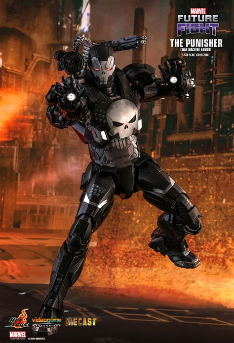 hot toys  punisher war machine armor