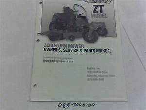 088-7006-00 - 2012 Zt Owner U0026 39 S Manual
