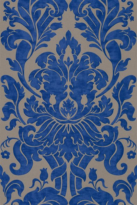 Rasch Tapete Blau by Vliestapete Barock Hellbraun Blau Tapete Rasch En Suite 546415