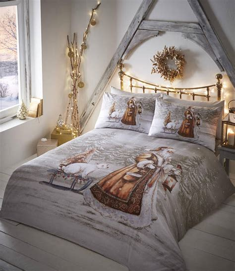 christmas bedding sets duvet covers home design