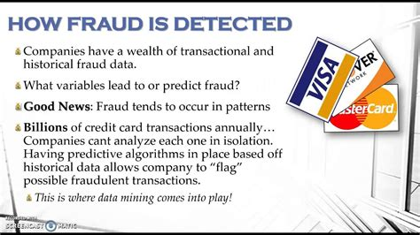 Close your card or bank account. Data Mining Techniques to Prevent Credit Card Fraud - YouTube