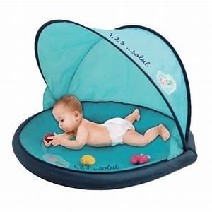 Protection enfant : La tente de plage anti UV , indispensable pour protéger les enfants du