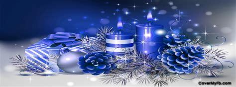 blue christmas decos facebook covers blue christmas decos