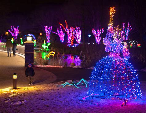 lewis ginter festival of lights what s new at this year s dominion gardenfest of lights