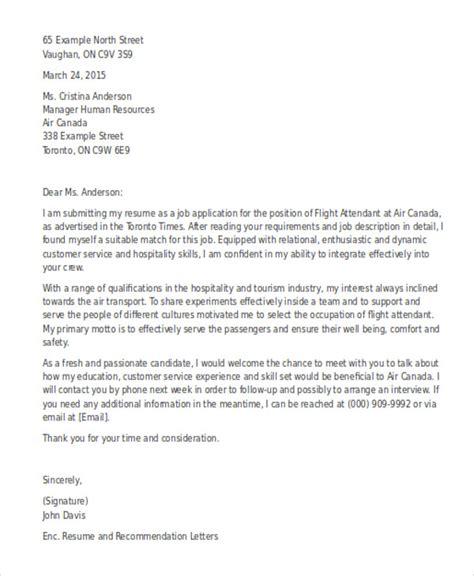 Flight Attendant Cover Letters by Flight Attendant Cover Letter Bravebtr