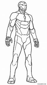 Iron Coloring Man Pages Ironman Printable Easy Drawing Print Cool2bkids Getcolorings Getdrawings Results sketch template