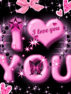 Animated Mobile Phone Wallpapers Flowers - animated i luvyou pink flowers mobile phone wallpapers
