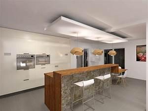 comptoir bar arrondi trendy attrayant cuisine avec bar With cuisine avec bar arrondi