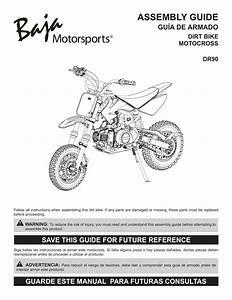 Baja Motorsports Dr90 Dirtbike Assembly Guide