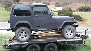 1994 Jeep Wrangler Yj And Trailer For Sale