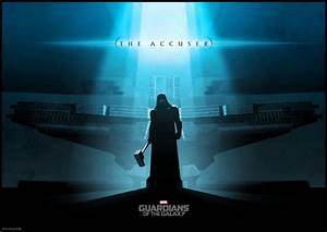 Guardians of the Galaxy Artwork Poster - Ronan the Accuser ...