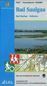 Bad Saulgau Deutschland : topographische freizeitkarte baden w rttemberg bad saulgau bad buchau federsee landkarten ~ Heinz-duthel.com Haus und Dekorationen