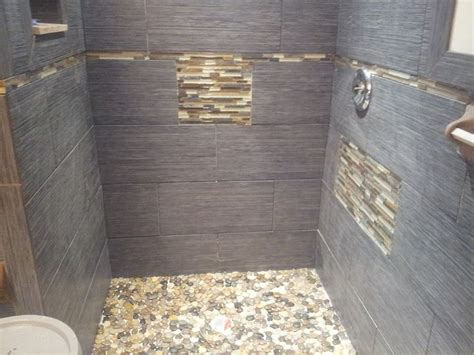 rock looking floor tile glass tile river and