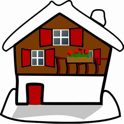 Clipart Clip Homes Clker Vector Svg