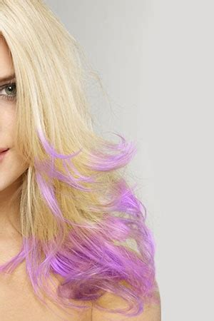 style factor   gorgeous purple hair highlights