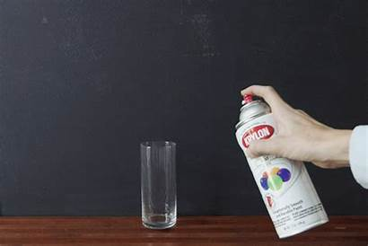 Spray Paint Diy Vessel Instructions Glass Dotted