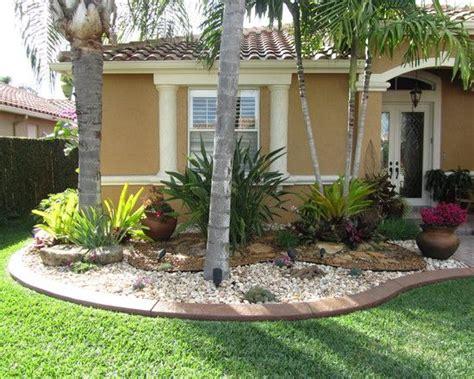 Tropical Landscape Design-front Yard Inspiration