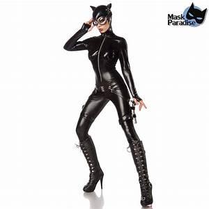 Sexy Kostm Im Latex Catwoman Look Mit Brille VOODOOMANIACS