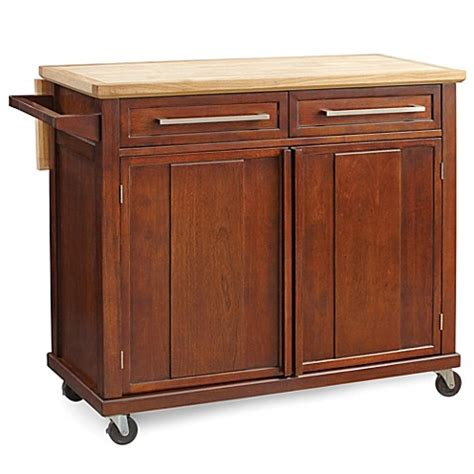 simple kitchen island simple rolling kitchen island in walnut bed bath