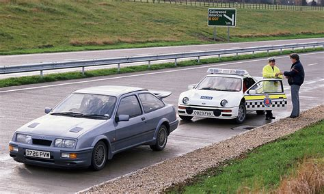 renault rally 2016 uk police remember the ford rs200 days try focus rs
