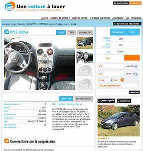 Site Vente Particulier : location de v hicule particulier contrat location vehicule entre particulier bilan du site ~ Gottalentnigeria.com Avis de Voitures