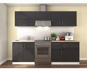 Cuisine Non équipée : cuisine meuble gris cuisine en image ~ Melissatoandfro.com Idées de Décoration
