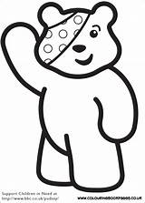 Children Bear Colouring Pudsey Printable Colour Activities Sheets Crafts Colouringbookpages Awesome Coloring Preschool Preschoolers Eyfs Blush Pudsy Sheet Eyes Bbc sketch template