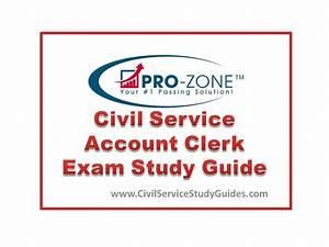 Civil Service Account Clerk Exam Study Guide