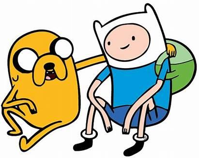 Finn Clipart Adventure Cartoon Jake Clip Dog