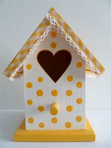 Ideas For Decorating Wooden Birdhouses Cute Bird Houses ...
