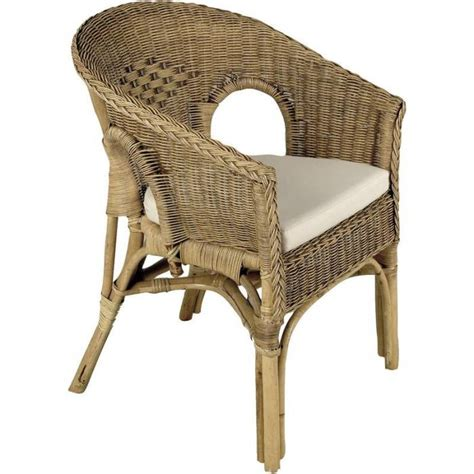 siege en rotin fauteuil en rotin patiné marron 57x57x80cm achat vente fauteuil rotin cdiscount