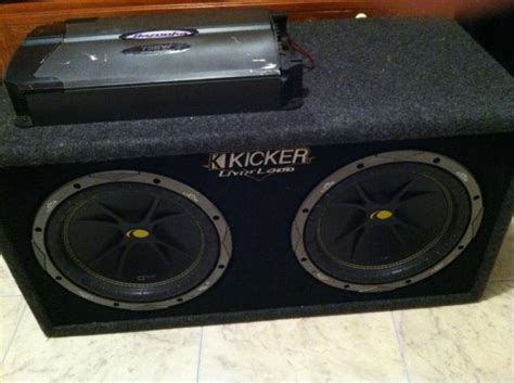 Kicker Livin Loud Box For Sale