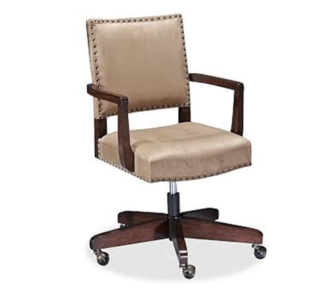 Office Chairs Pottery Barn by Manchester Swivel Desk Chair Pottery Barn