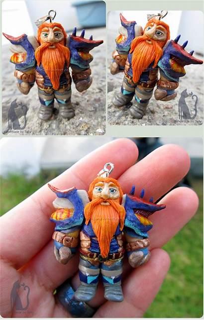 Clay Polymer Dwarf Wow Crafted Talty Deviantart