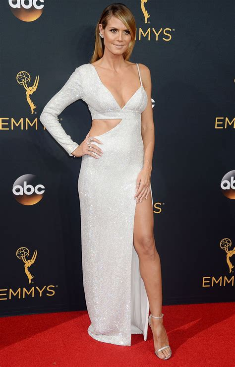 Heidi Klum Annual Emmy Awards Los Angeles