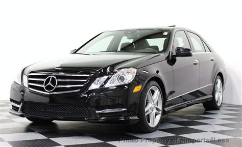 New car prices, special offers, reviews 2013 Used Mercedes-Benz CERTIFIED E550 4Matic V8 AMG Sport AWD Sedan NAVIGATION at eimports4Less ...