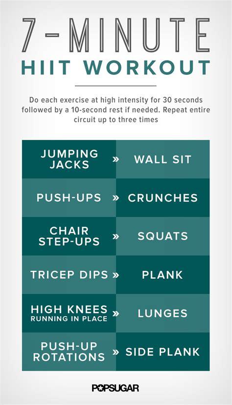 minute workout targets belly fat popsugar fitness uk