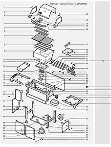 Weber Genesis Silver B Ng Swe  2005  Parts