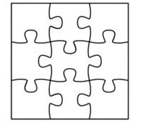 Jigsaw Puzzle Template For Word by 1000 Images About Jigsaw Display On Classroom