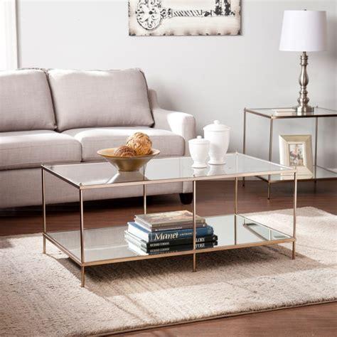 glass coffee tables  display   formal living room