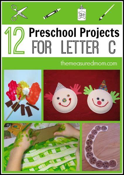 preschool art projects simple crafts  letter