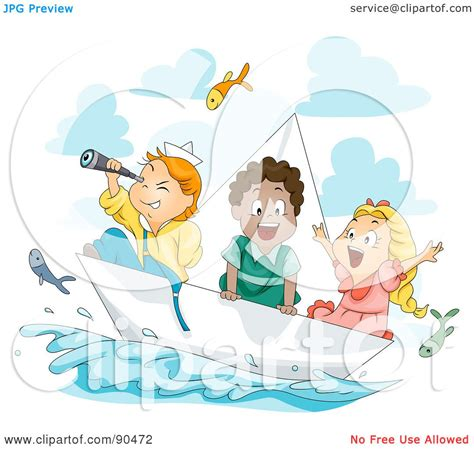 Royalty-Free (RF) Clipart Illustration of a Diverse Group ...