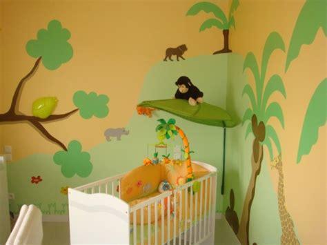 chambre bébé jungle chambre bébé jungle 8 photos syldo10