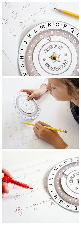 printable secret decoder wheel allfreekidscraftscom