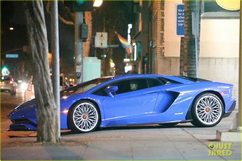 Justin Bieber Car by Justin Bieber Heads Out In His New Car After Working