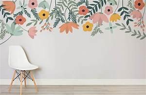 Tulipa, Floral, Wall, Mural