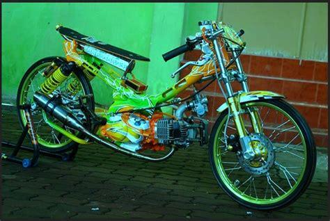 Modif Jupiter Z Drag by Gambar Foto Modifikasi Motor Jupiter Z Drag Cepat